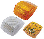 Rectangular LED Cab Light-36 LEDs-Clear or Amber Lens