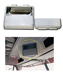 Freightliner Passenger Side Overhead Storage Pocket-Includes Pocket Bucket Insert