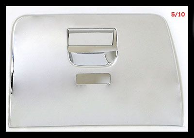 Freightliner Cascadia 2007 + Chrome Glove Box Cover