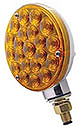 Single Face LED Turn Signal-Amber Lens